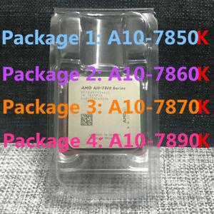 AMD A10-7800 A10-7850K A10-7860K A10-7870K A10-7890K CPU 4-Core FM2+ Processor