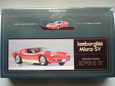 Fujimi Vintage 1/20 Scale 1971 Lamborghini Miura SV Model Kit - New & Rare Model