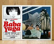BABA YAGA fotobusta poster Farina Guido Crepax Magic Magia Homosexuality AI36