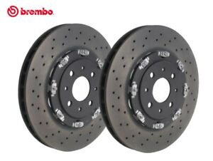 Abarth 595/695 2 Piece 305mm Front Disc Brakes Floating Brembo Discs