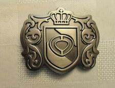ORIGINAL C1RCA SILVER TONE BELT BUCKLE CROWN DESIGN UNIQUE!!!