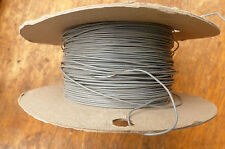 Silver Plated Copper PTFE Wire Cable 23AWG 0,7MM Gray HQ 10 meters