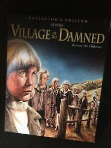 Village of the Damned Scream Factory Blu-ray 1995 W/Slipcover OOP Cheap