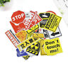 Wholesale Authentic Red And Black Funny Stickers Snowboard Luggage Car Laptop