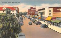 Elizabeth St Waycross Restaurant Ga Hotel Ware So Georgia News Agency