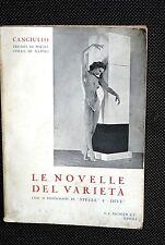 LE NOVELLE DEL VARIETA'  CANGIULLO  1° edizione 1938