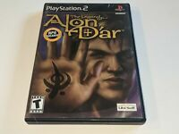 THE LEGEND OF ALON D'AR RPG Sony PS2 Video Game Black Label *COMPLETE*
