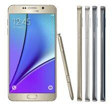 Samsung Galaxy Note 5 Black White & More 32GB 64GB SM-N920T T-Mobile Refurbished