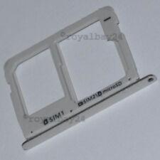Samsung Galaxy A7 2016 nano SIM-Halter silber holder Tray microSD silver A710F