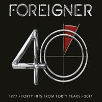 Foreigner - 40 (Hits 1977-2017) (NEW 2CD)