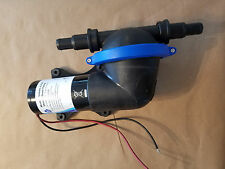 Jabsco 50880-1100 24VDC Shower Drain 4.2GPM Water Liquid Bilge Pump