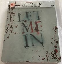 Let Me In Steelbook - UK Exclusive Very Limited Edition Blu-Ray **Region B**