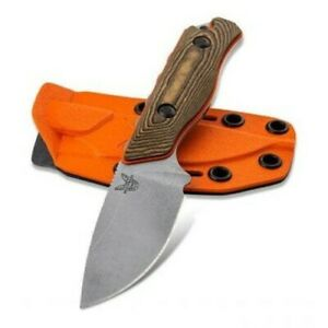 Benchmade Hidden Canyon Hunter S90V Boltaron Sheath Fixed Blade Knife - 15017-1