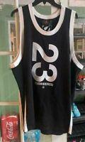 Men Nike Air Jordan 23 Engineered Basketball Jersey Black AT9781-010 Size XL NEW