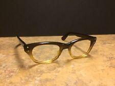 686030019fca New ListingVintage Imperial Eyeglasses Brown Clear USA Nice Shiny 46-20-145  Plastic
