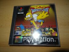 THE SIMPSONS Lucha Libre ps1pal Versión Playstation PAL NUEVO PRECINTADO