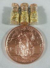 1 oz .999 Fine Copper Zombucks Starving Liberty Round Bullion +3 Jars Gold Flake