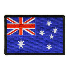 Embroidered Australia Australian Flag Sew or Iron on Patch Biker Patch