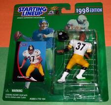 1998 Carnell Lake Pittsburgh Steelers Rookie -Free s/h- sole Starting Lineup Nm+