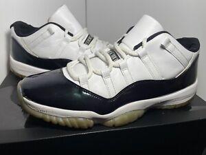"Nike Air Jordan 11 XI Retro Low ""Emerald Iridescent"" Men's Size 11 528895-145"