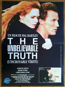 Poster The Unbelievable Truth Hal Hartley Adrienne Shelly Robert Burke