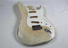 MJT Official Custom Vintage Age Nitro Guitar Body By Mark Jenny VTS Blond 1Piece