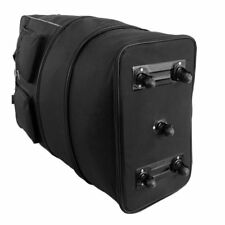 Extra Large 36 Inch Wheeled Cargo Folding Holdall Travel Duffle Bag - 140 Litre
