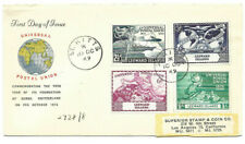 1949 Universal Postal Union Leewards Islands To Los Angeles Registered Fdc