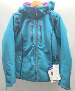 Descente Women's Camile Snow Ski Winter Jacket Large Teal NEW