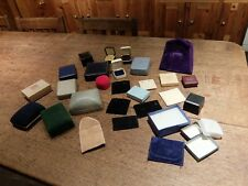 Job Lot Bundle Jewellery Boxes Storage Rings Lighters Display Many Designs Sizes