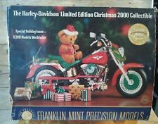 Franklin Mint 2000 Harley Davidson Limited Edition Christmas Collectible...