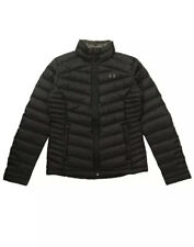 UNDER ARMOUR Iso PERTEX Full-Zip Down Jacket 1316024-001 Black Sz Small