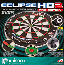 UNICORN ECLIPSE HD 2 PRO EDITION DARTBOARD WITH UNILOCK.... YOUV'E SEEN IT ON TV