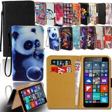 Leather Smart Stand Wallet Card Cover Case For Various Microsoft Lumia Phones
