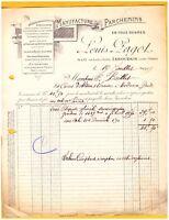 """ISSOUDUN (36) USINE de PARCHEMINS / LAINES DE BERRY CUIROTS """"Louis PAGOT"""" en1919"""