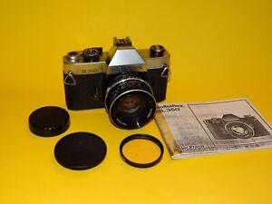 Rolleiflex seltene SL350 SLR mit Zeiss Planar 1,8/50 (Germany), teildefekt