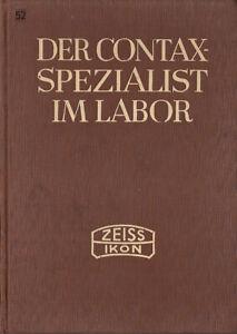 Zeiss Ikon Buch: Der Contax Spezialist im Labor