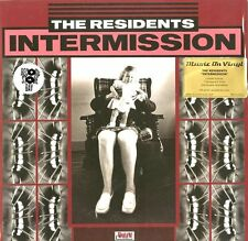 """THE RESIDENTS """"INTERMISSION"""" lp RSD limited transparent vinyl edition sealed"""