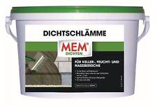 MEM Dichtschlämme 5 Kg / Abdichtung / Wände / Neubauten / Sanierung / Keller