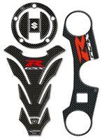 Kit de Pegatinas 3D Protecciones Gsx-R 1000 Compatible para Suzuki Moto Gsxr