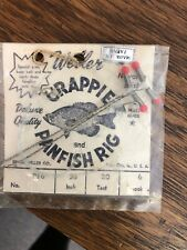 Weller Vintage Crappie And Panfish Rig, NOS, Made In Japan