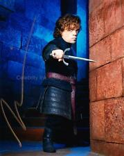 PETER DINKLAGE as Tyrion  - Game Of Thrones GENUINE AUTOGRAPH UACC (R7981)