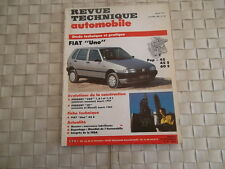 REVUE TECHNIQUE FIAT UNO et FIRE - POP 45 - 45 S - 60 S - 60 SX