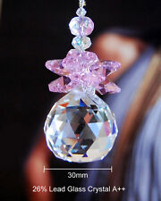 Special Edition- Pink Angel Crystal Ceiling Fan Pull