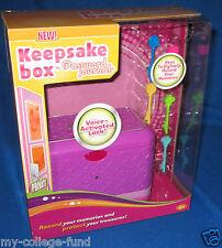 Radica Girl Tech Password Journal Keepsake Box NEW