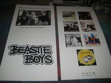 Beastie Boys-(the sounds of science)-1 Poster-2 Sided-12X24-Mint-Rare