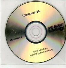 (DG15) Apartment 26, 88 / Axel Off - DJ CD