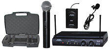 Audio2000'S AWM6032UL Handheld & Lavaliere Wireless Microphone System-MR