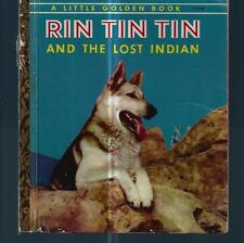 Vintage Little Golden Book..1958...RIN TIN TIN and the LOST INDIAN..172:30
