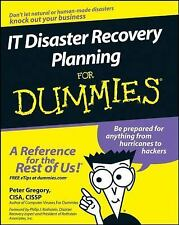IT Disaster Recovery Planning for Dummies by Peter H. Gregory (2007, Paperback)